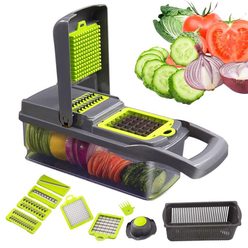 Vegetable Cutter Kitchen Accessories Slicer Fruit Cutter Potato Peeler  Cheese Grater Vegetable Slicer Carrot Shredder Grater