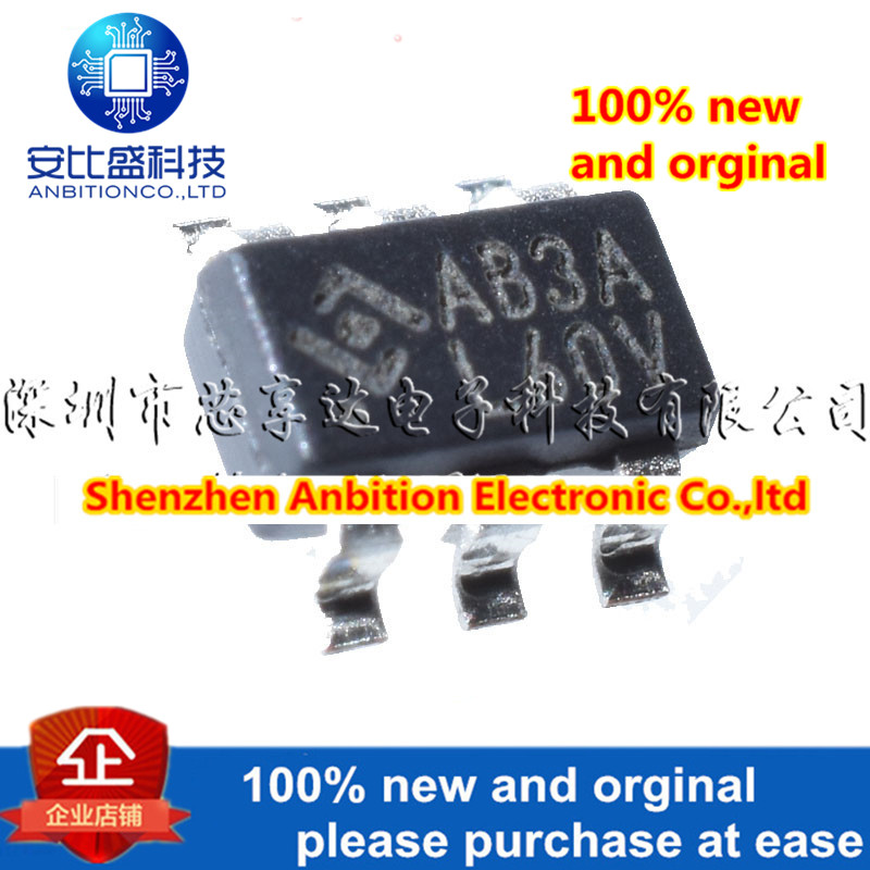 50pcs  100% New And Orginal AB3A SOT23-6 HY2212-BB3A  HY2212  In Stock