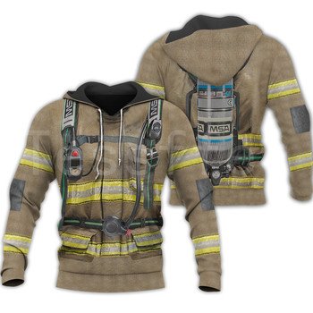 Tessffel Firefighters Suit Firemen superhero Harajuku Tracksuit NewFashion 3DPrint Zipper/Hoodies/Sweatshirt/Jacket/Men/Women s4 1