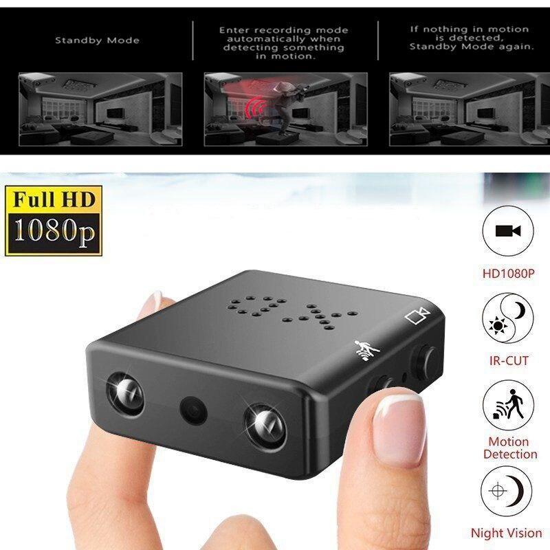 1080 p completo hd filmadora xd IR-CUT mini câmera menor visão noturna infravermelha micro cam detecção de movimento dv mini câmera de vídeo