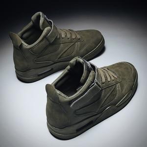 Image 5 - 2020 موضة الرجال حذاء كاجوال أحذية رياضية حذاء رجالي جديد مكتنزة أحذية رياضية الرجال أحذية تنس الكبار مريحة Erkek Ayakkabi