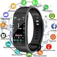 Bracelet intelligent mesure de la pression artérielle Fitness Tracker montre étanche moniteur de fréquence cardiaque Bracelet intelligent femmes hommes montre