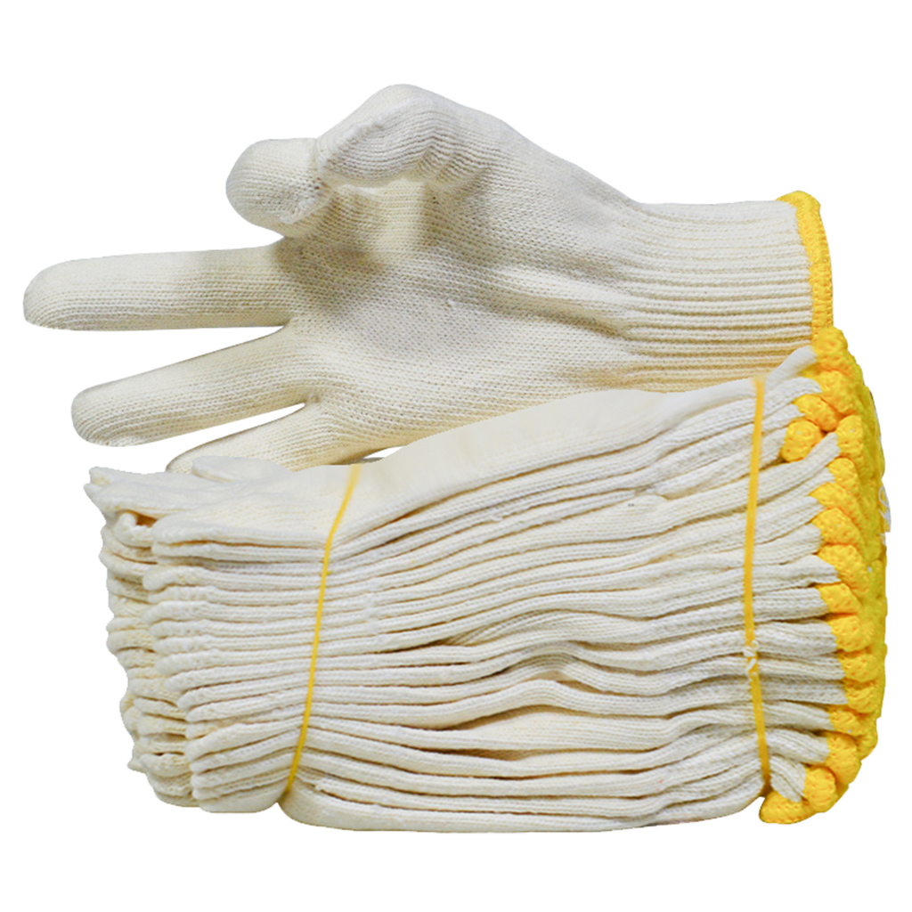 120 Pairs Knit Cotton Work Gloves | Lightweight, String Knit, For Men, Women , Bulk