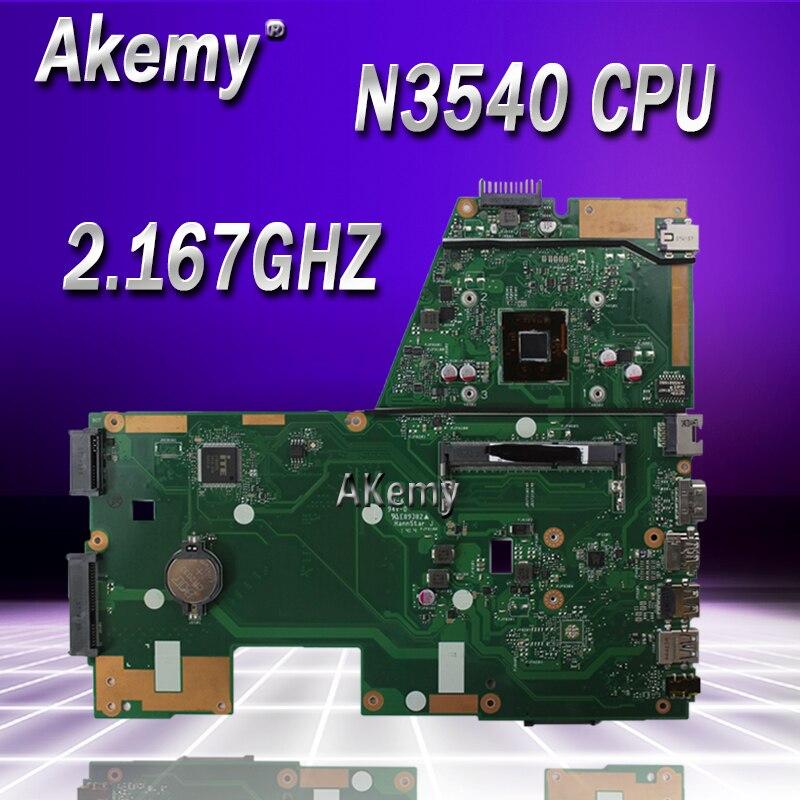 Akemy X551MA Laptop motherboard for ASUS X551MA X551M X551 F551MA D550M Test original mainboard N3540 4