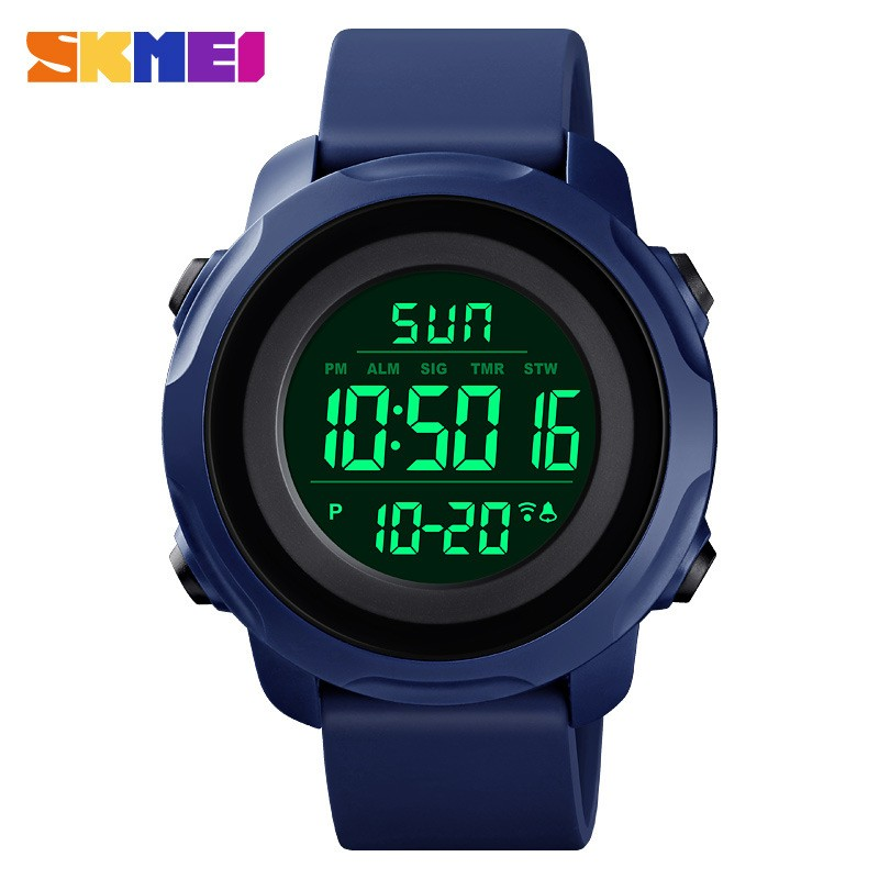 SKMEI Couple Digital Watches Women Men Sport 50m Wacterproof Watch Light Display Alarm Clock Chrono Wristwatch Lover's Watch