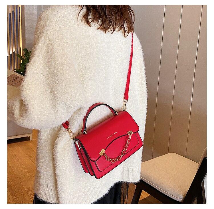 Hifar nova bolsa de couro das mulheres