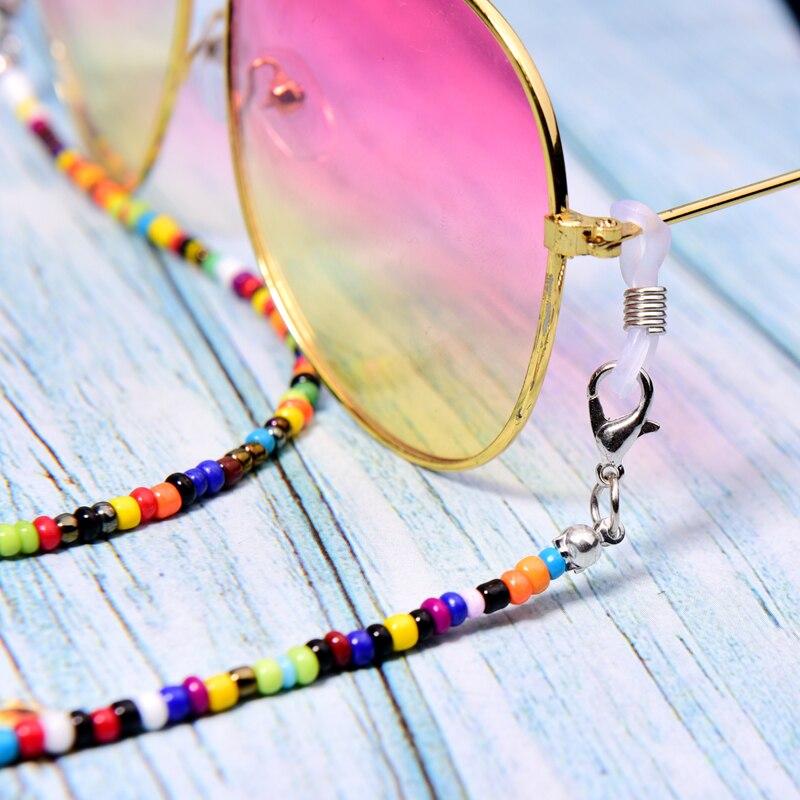 Color Fade Beaded Sunglasses 4
