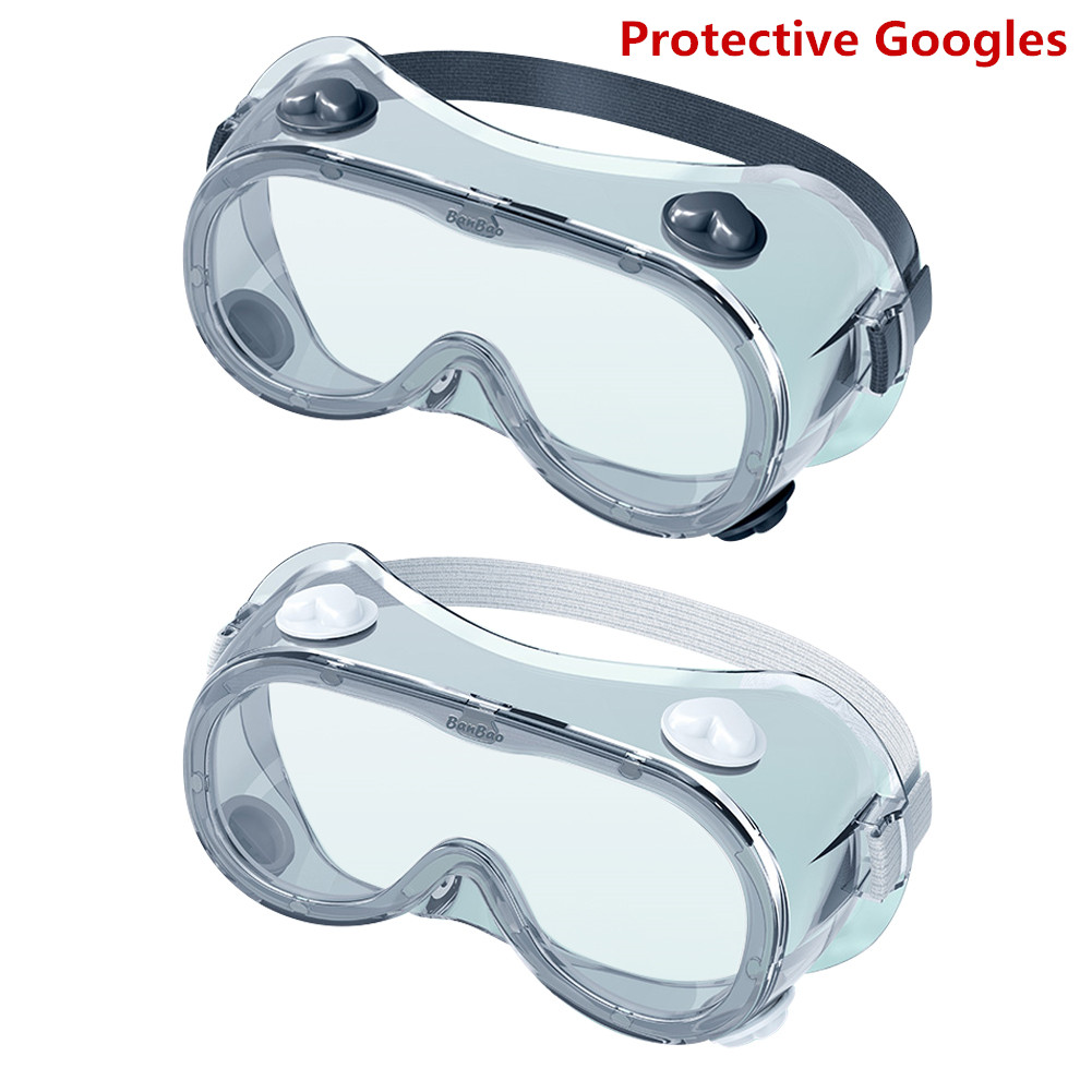 1PCS Protective Safety Goggles Wide Vision Disposable Indirect Vent Prevent Infection Eye Mask Anti-Fog Medical Splash Goggles