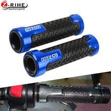 цена на For SUZUKI GSR600 GSR 600 2006 2007 2008 2009 2010 2011-2012 Universal Motorcycle Accessories handlebar Grips Motorbike hand bar