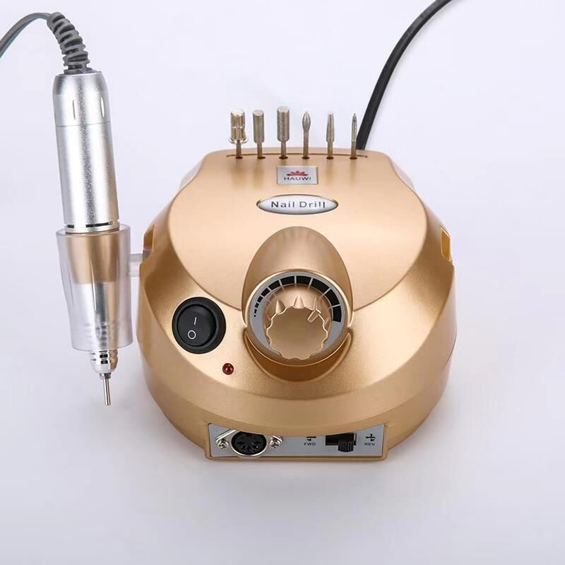 35000 RPM Professional Electric Nail Frustration, Manicure File Kit And Manicure Pedicure Drill Art Polishing Machine Tool