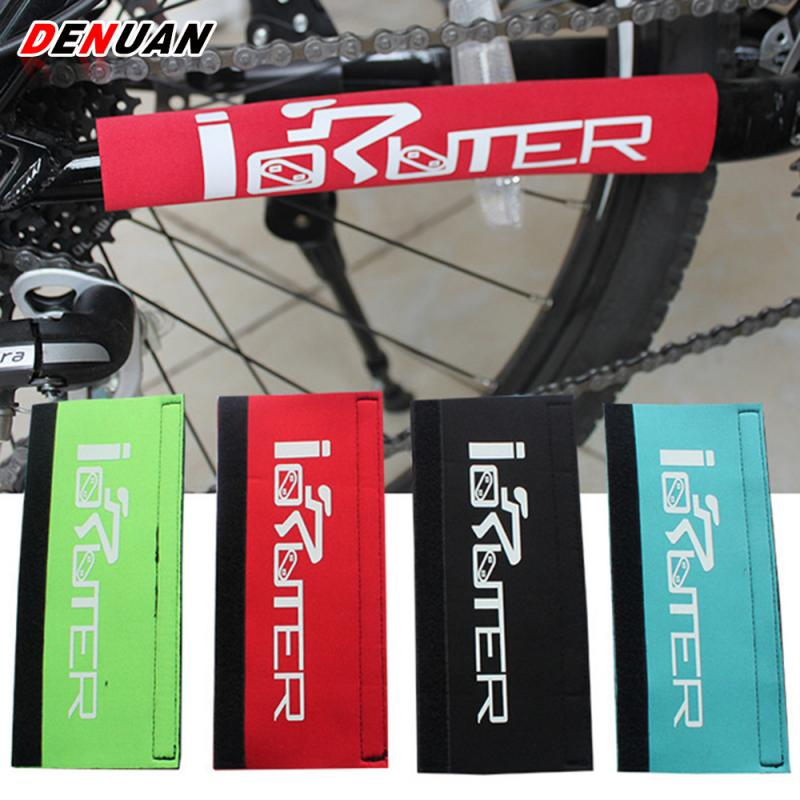 Mountain Bike Cycling Frame Chain Plastic Protector Rear Frame Cover Useful Chain Guard Protection Cycling Accessories