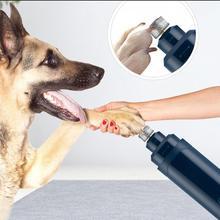 Машинка для стрижки ногтей для собак безболезненный электрический триммер для ногтей для домашних животных набор для ухода за собаками и кошками портативная перезаряжаемая машинка для стрижки ногтей для домашних животных