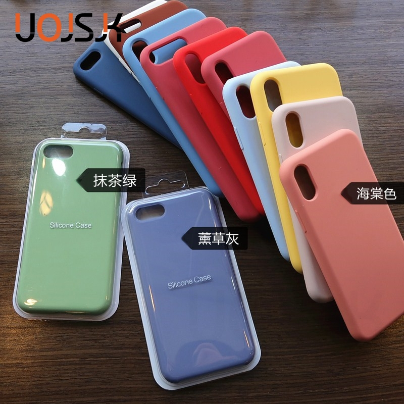 Original Official Silicone Case For IPhone 7 8 Plus Cases For IPhone XR X XS Max Case