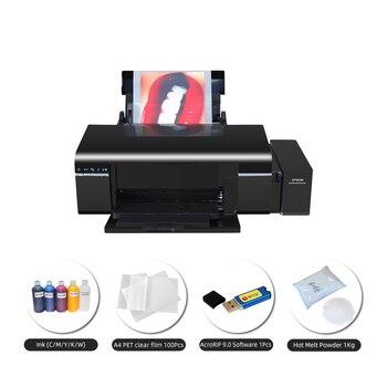 DTF Printer Heat Transfer Film Printer Digital PET Film Printer for Clothing Tshirt L805 DTF printer package 1