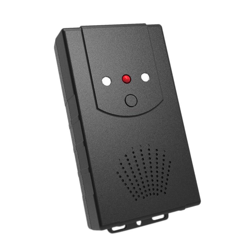 AAY-Ultrasonic Repeller Garden Car Hood Rodent Pest Repulsion Electronic Pest Repeller Black (Battery Version) Pc