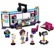 For Legoing Friends Pop Star Recording Studio Olivia Superstar Singer 10403 Model Building Blocks 175pcs Brick Toy With Legoings(China)