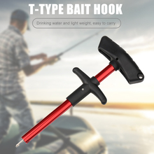 17cm T Shaped Fish Hook Remover Fishing Terminal Tackle Outdoor Portable Hooks Detacher Extractor Easy Fishing Carrying