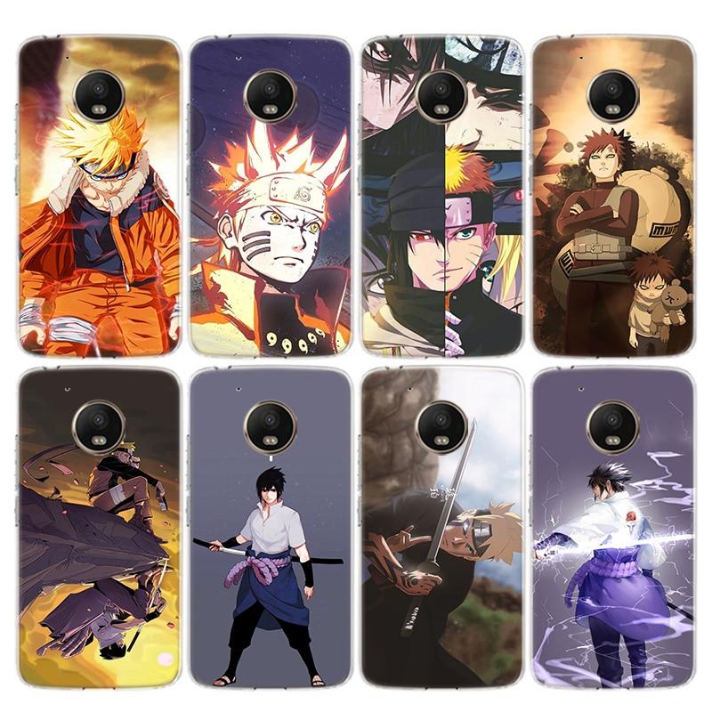 Anime Naruto Akatsuki Phone Case For Motorola Moto G8 G7 G6 G5 G5S G4 E6 E5 E4 Plus Power Play EU One Action Macro Vision Cover