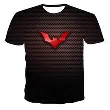 New Round Neck T-Shirt Men 'S High -Quality Men 'S T-Shirt Short-Sleeved Dark Monster 3d Printed Fashion Handsome Men 'S T-Shirt