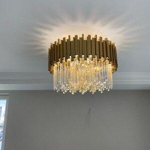 Image 2 - Phube роскошный светодиодный потолочный светильник для спальни