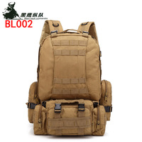 Tactical Backpack 4 in 1 Military Bags Army Rucksack Backpack Molle Outdoor Sport Bag Men Camping Hiking Travel Climbing Bag