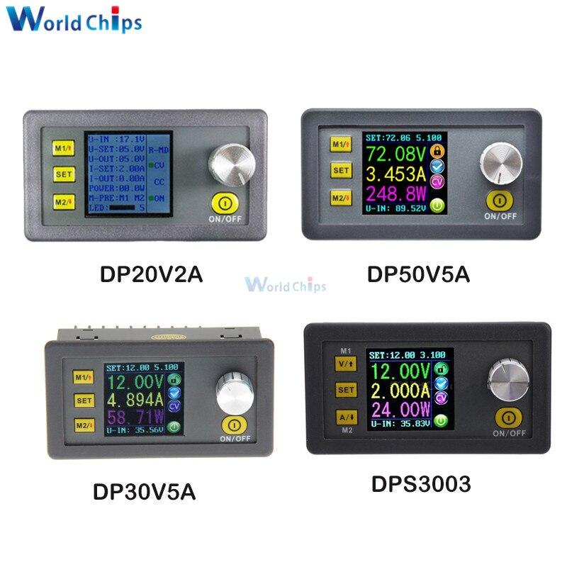 Constant Voltage current Step down Programmable Power Supply Module buck Voltage Regulator converter color LCD voltmeter Ammeter