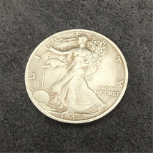 Magnetic Walking Liberty Half Dollar (Super Strong, 3.05cm, Brass) Magic Tricks Coin Appearing Magia Illusion Gimmick Props