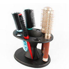 Scissors Holder Brushes Hair-Tools Stand Salon Iron Roll Round