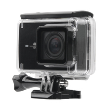 Underwater 45m Waterproof Protective Housing Case For Xiaomi Yi 2 4k Action Camera cp a216 lock buckle for xiaomi yi waterproof housing