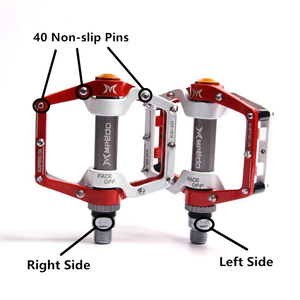 Image 4 - Bike Pedals MTB BMX Sealed Bearing Bicycle CNC Product Alloy Road Mountain SPD Cleats Ultralight Pedal Cycle Cycling Accessories