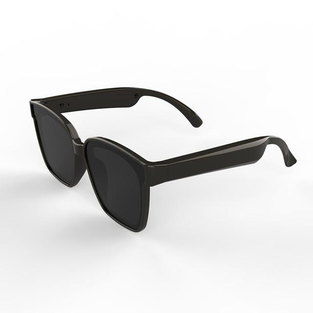 A3 2 ב 1 משקפי חכמים אלחוטי Bluetooth אוזניות BT5.0 מוסיקה משקפיים חיצוני רכיבה על אופניים משקפי שמש ספורט אוזניות עם מיקרופון