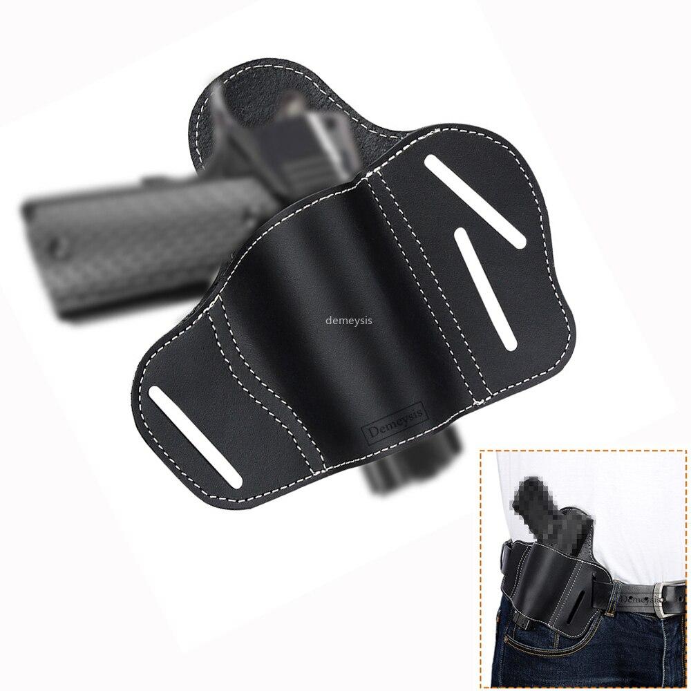 Rechte Hand Taktische Verdeckte Trage Gürtel Pistole Holster für Glock 17 19 22 23 43 Sig Sauer P226 P229 Ruger beretta 92 M92