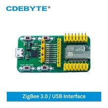 EFR32 Test Board USB Port 2.4GHz ZigBee 3.0 Test Kit for Smart Home E180-ZG120B Transceiver Module