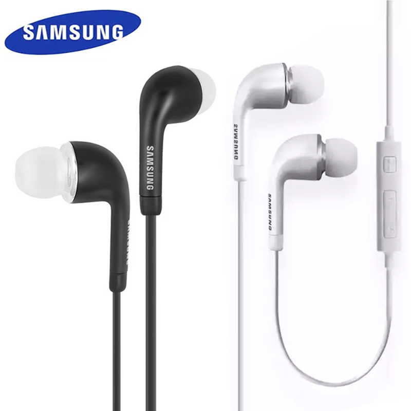 Samsung EHS64 ecouteurs avec Microphone intégré 3.5mm/type-c écouteurs intra-auriculaires filaires pour Smartphones avec cadeau gratuit