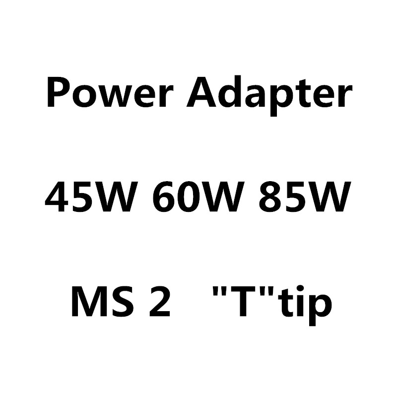 """Youpin New 45W 60W 85W MS*2 T-Tip Laptop Power Adapter Charger For Apple MacbooK Air Pro 11""""13"""" 15""""17"""""""