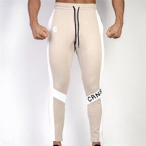 Image 5 - ใหม่ผู้ชาย Joggers กางเกง Casual กางเกงฟิตเนสชายกีฬากางเกงกางเกง Skinny Sweatpants กางเกงสีดำโรงยิม Jogger กางเกงเหงื่อ