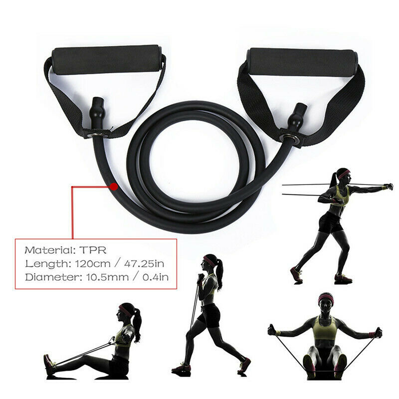 Resistance Bands Loop Set Cross Fit Fitness Yoga Body Leg Exercise Workout Band Gym Home Fitness Exercise Tube Band