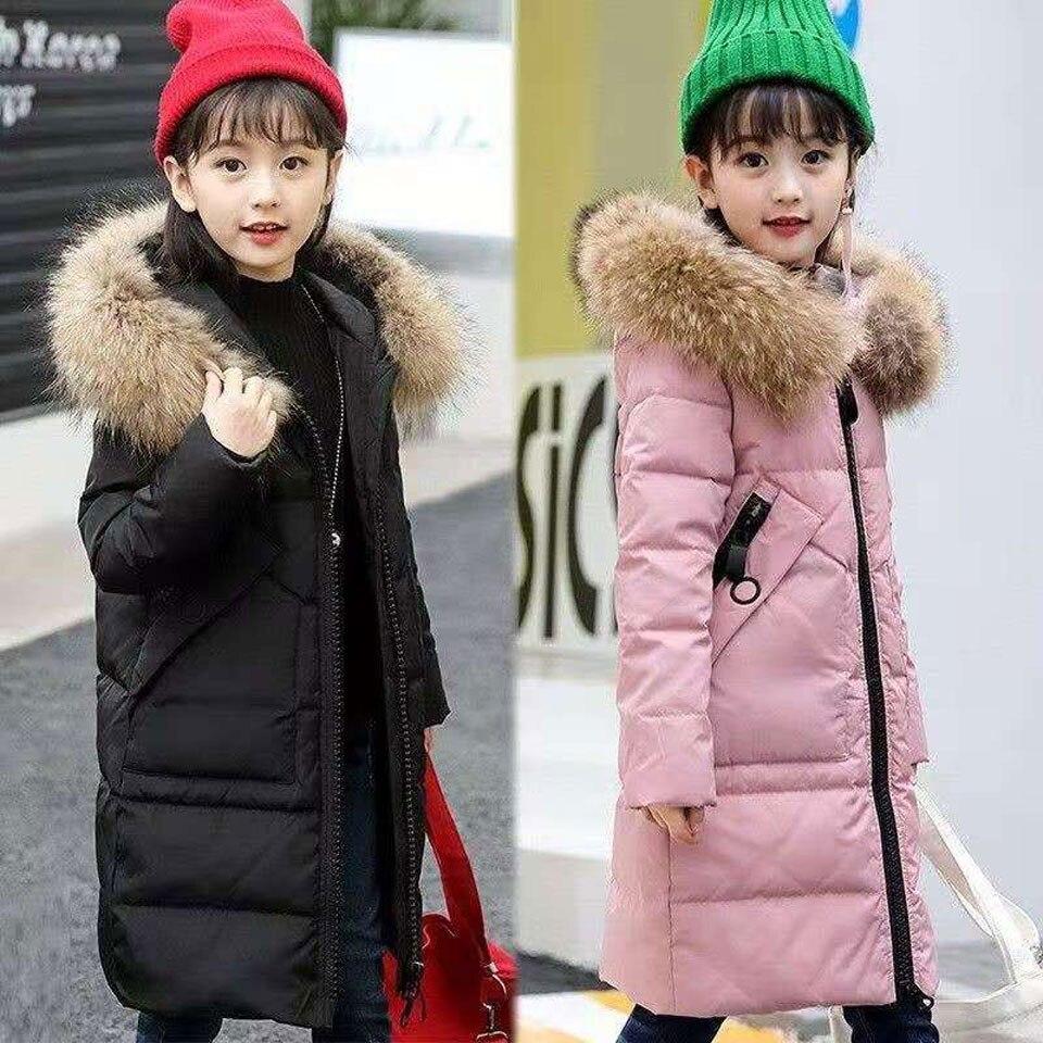 menina para baixo parkas 2020 crianças moda