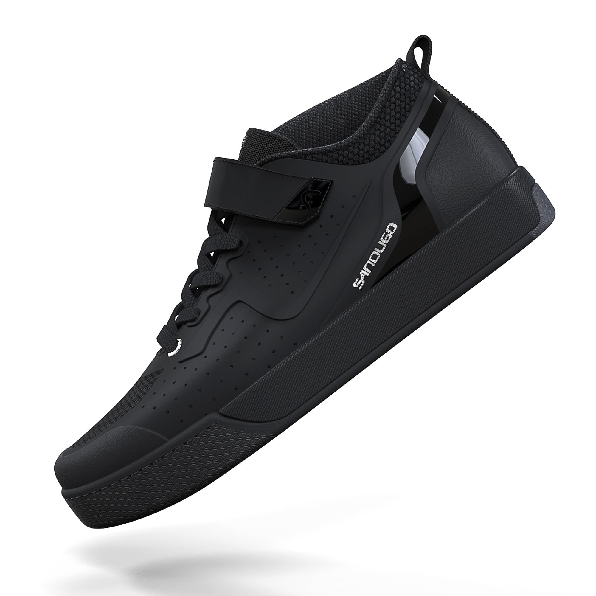 Для мужчин's на горных велосипедах обувь Плоские Педали MTB SPD горные Enduro обувь, совместимый со всеми 2-болт и Плоские Педали