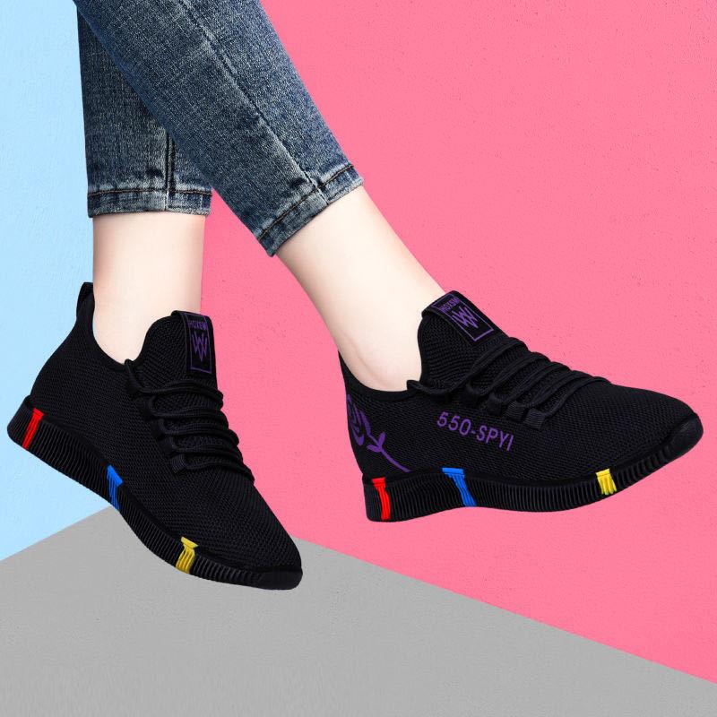 New Designer Korean White Platform Sneakers Casual Shoes Women 2020 Fashion SpringTenis Feminino Woman Footwear Basket Femme