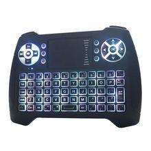 цены на T16 Wireless Air Mouse Keyboard 2.4G Remote Control For PC Android TV Laptop  в интернет-магазинах