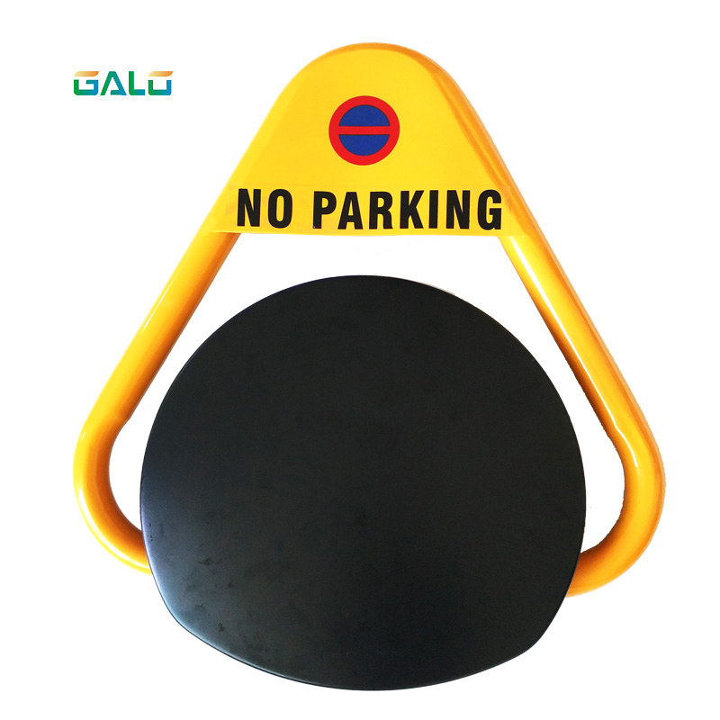 VIP Parking Space Automatic Remote Control Triangle Parking Barrier Lock For Car