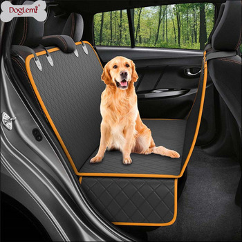 Pet Carrier Dog Car Seat Carrier Cover Rear Back Blanket Mat Non-slip Folding Cushion Mat for Dogs Folding Blankets Pet Products