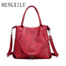 Crossbody Bags for Women 2019 Soft Leather Shoulder Bags Female High Quality Handbags Women Messenger Bag Vintage Sac A Main