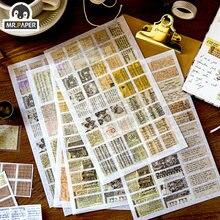 Mrpaper 4 вида конструкций 6 шт декоративные европейские средневековые