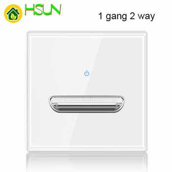 86 type White tempered glass reset toggle switch 1 2 3 4 gang 1 2 way retro hotel creative switch USB France Germany UK socket 11