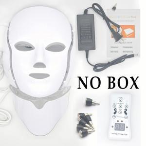 Image 3 - Mascarilla Facial con luz LED para rejuvenecimiento de la piel, tratamiento de fotones, antiarrugas, terapia de acné, máquina de estiramiento de la UE