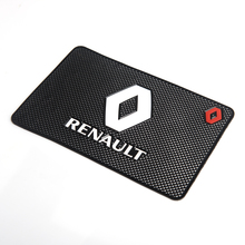 Car Logo Anti Slip Pad Phone Holder Non-Slip Mat Non slip Mats For BMW Toyota Opel Nissan Volkswagen Mazda Hyundai Honda Kia cheap BEMOST Silica Gel Black With Car logo