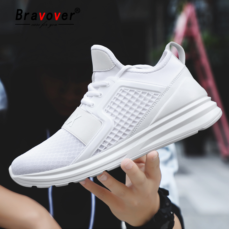 New Arrival Men Running Shoes Breathable Mesh Sneakers Jogging Gym Training Althetic Outdoor Sport Shoes Light Sneakers For Men