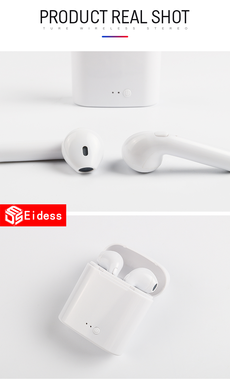 i9S TWS Mini Wireless Bluetooth Earphones Earbuds Sport Handsfree Earphone headphones Headset Charging Box for xiaomi iPhone